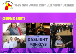 2018 Gŵyl Edeyrnion Festival 18th/25th August @ Various Venues in Corwen | Corwen | Wales | United Kingdom