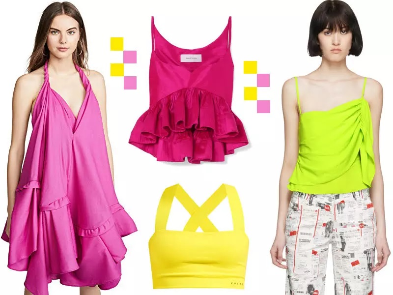 SPRING'S HOTTEST HUES