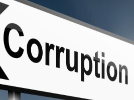 corruption sign