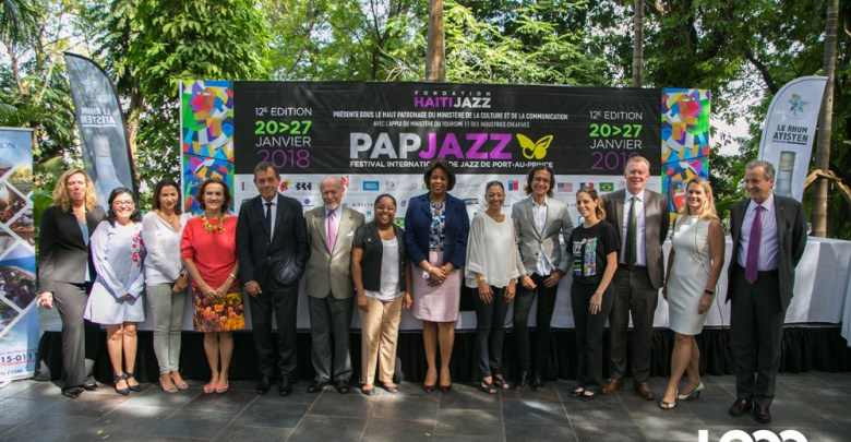 12e éd. du festival international de Jazz de Port au Prince du 20 au 27 janvier 2017. Photo Estailove St Val LoopHaiti