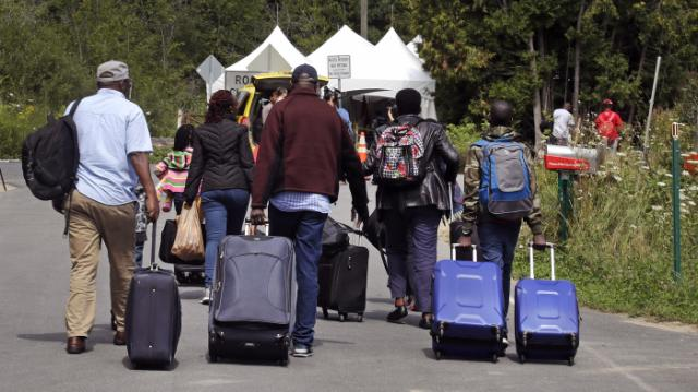 Haitians Flow Into Canada From The U.S. 1