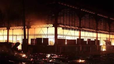 Mercado de Hierro en Haití nuevamente destruido tras incendio