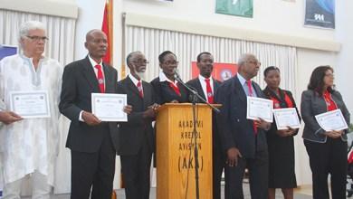 De nouvelles personnalités installées à l'Akademi kreyòl ayisyen