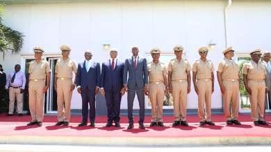 Jovenel Moise installe le haut Etat Major de l'armée d'Haïti. Photo Président Jovenel Moise Facebook