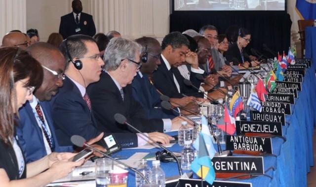 la 48e Assemblée générale de l'OEA