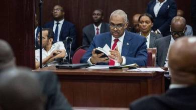 Haiti's Prime Minister Jack Guy Lafontant in Parliament resigned after his order to raise fuel prices led to violent unrest