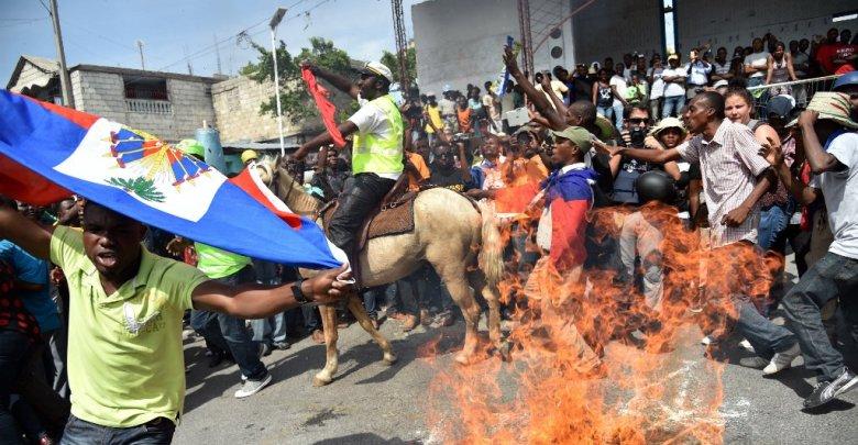 haiti manifestation 111115