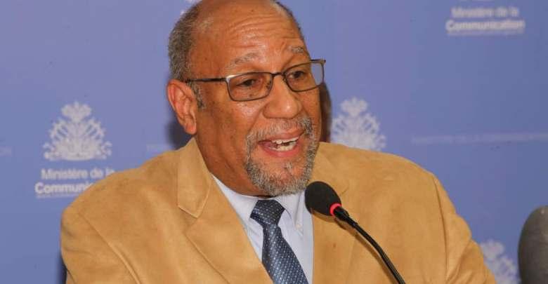 Dr Alix Lassègue Conseiller technique du MSPP Photo Ministère de la communication