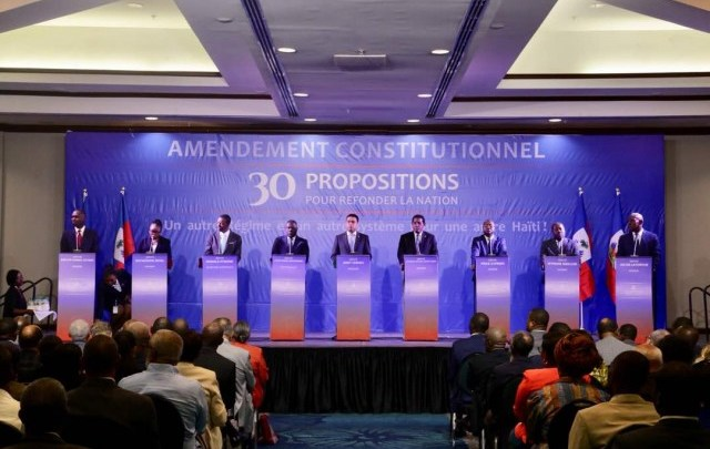 30 propositions d'amendement de la Constitution pour « refonder la nation »