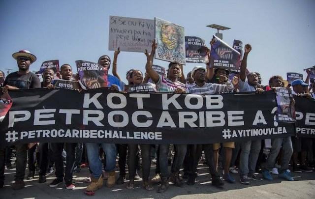 Une marche pacifique à Port au Prince pour réclamer toute la lumière sur la gestion de PetroCaribe1