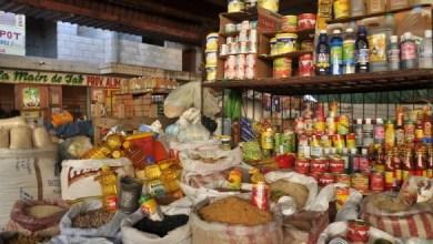 Banquette de provisions alimentaires en Haiti Photo Haiti Connexion
