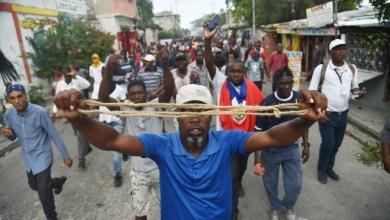La manifestation de l'opposition dispersée par la PNH3