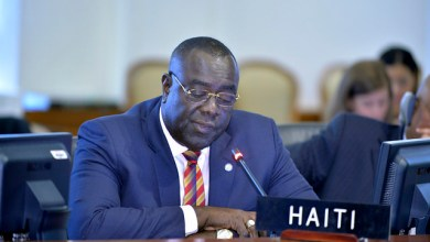 Haitis ambassador to the United Kingdom Bocchit Edmond