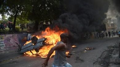 Scènes chaotiques en Haïti avec lintensification de la révolte contre le président 1