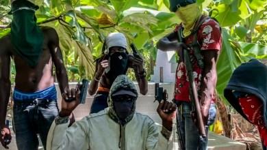 Une photo du groupe armé La Savane des Cayes dirigé par Kilikou novembre 2019. Crédit photo Ralph Tedy EROL TedActu