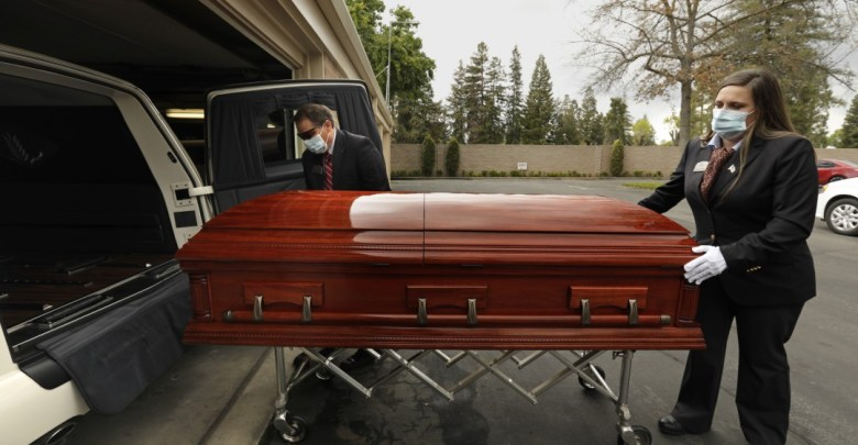 coffin credit Los Angeles Times