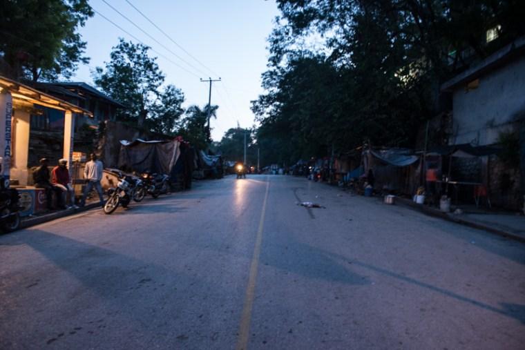 Cange market at dawn