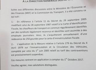 Le retrait sur le budget 2017-2018 se confirme