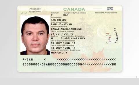 Un chef de cartel réussit à entrer au Canada avec un faux passeport…