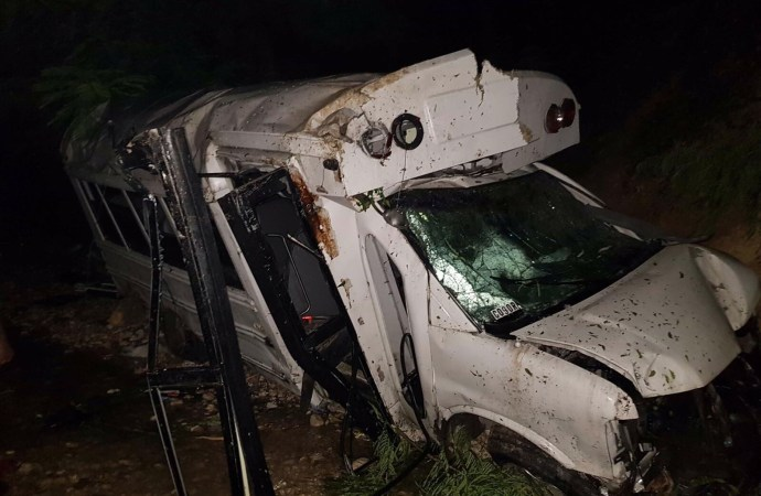 Grave accident sur la route de Bourdon…