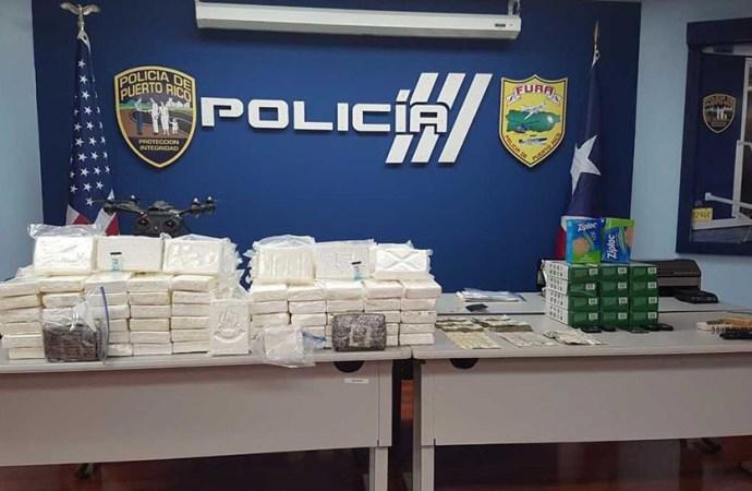 Porto Rico-Drogues: Grosse saisie de cocaïne par la DEA, un Dominicain épinglé