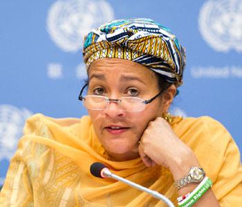 Haïti-Coopération : Nette diminution des cas de choléra, le numéro de 2 de l'ONU s'en réjouit