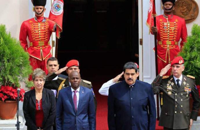 Haïti-Coopération: Jovenel Moïse est au Venezuela
