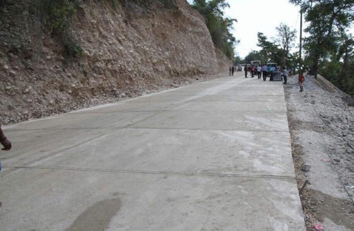 Inauguration de la route de Anbakan:les habitants de Camp Perrin poussent un ouf de soulagement