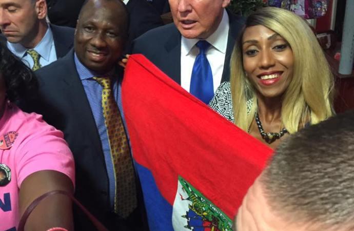 Donald Trump traite Haïti de »pays de merde»