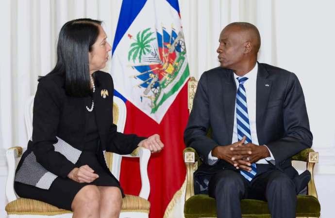 Haïti-Diplomatie: Michèle Jeanne Sinon, nouvel ambassadeur des USA en Haïti