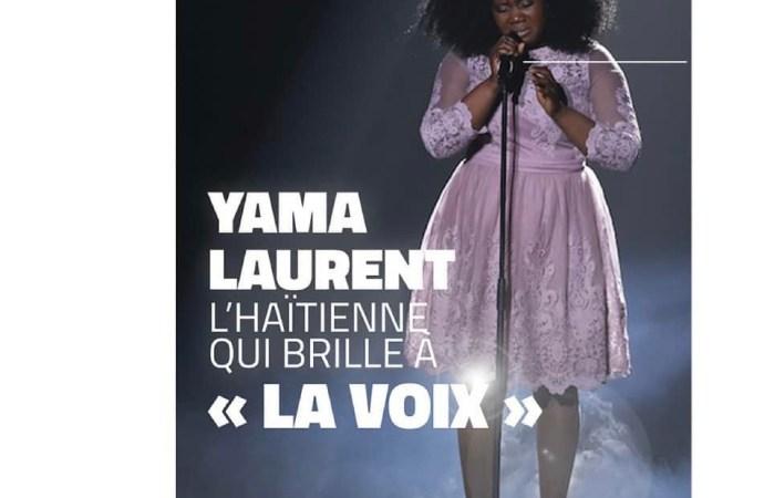 L'haitienne Yama Laurent a rayonné au concours The Voice au Canada