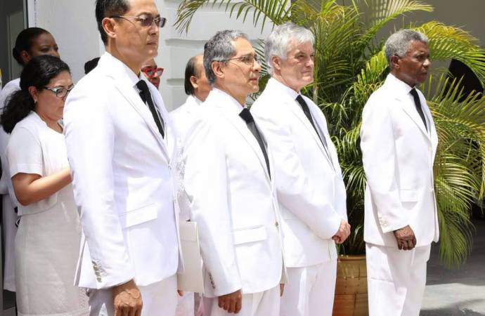 Diplomatie: accréditation de trois nouveaux ambassadeurs en Haiti