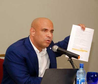 Laurent Lamothe refuse de se prêter au jeu politicien de Youri Latortue