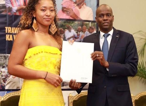 Noamie Osaka,  ambassadrice de bonne volonté pour la promotion du sport haïtien