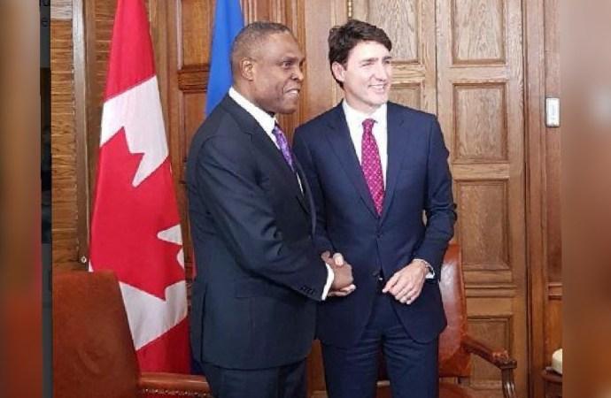 PM Céant invite les hommes d'affaires canadiens à investir en Haïti