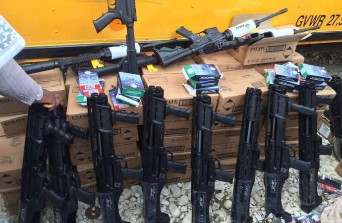 Affaire des armes saisies à Saint Marc: un condamné aux États-Unis, le nom du sénateur Hervé Fourcand cité