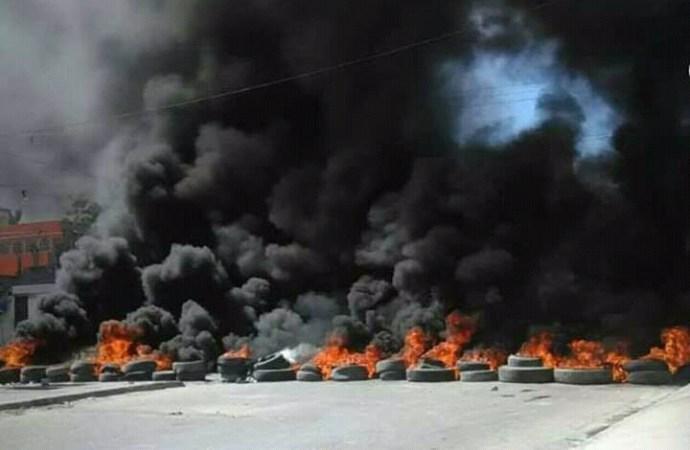 La commune de Carrefour est ''bloquée''