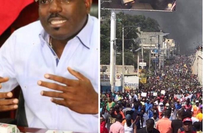 Le Secrétaire d'État à la sécurité publique  minimise le mouvement anti-Jovenel