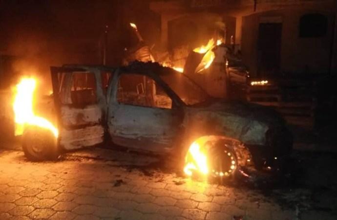 Des bandits ont attaqué le commissariat de Petite Rivière de l'Artibonite, des véhicules incendiés