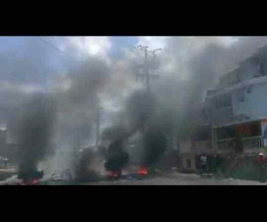 Au Cap-Haïtien, des manifestants s'en prennent aux institutions commerciales et scolaires