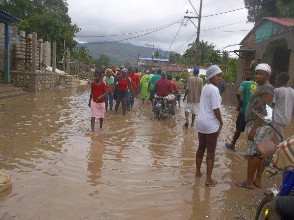 L'arrondissement de Belle-Anse inondé, une adolescente meurt dans une rivière en crue