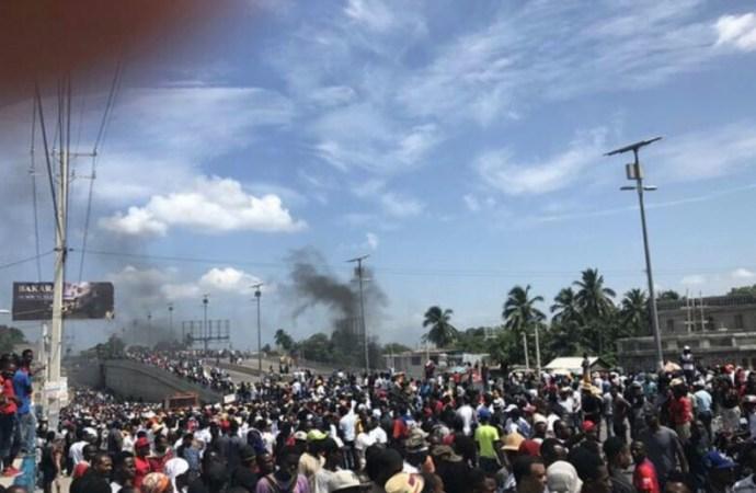 Manifestation: Moïse Jean Charles dénonce les «bourgeois» récupérateurs de la lutte anti-Jovenel