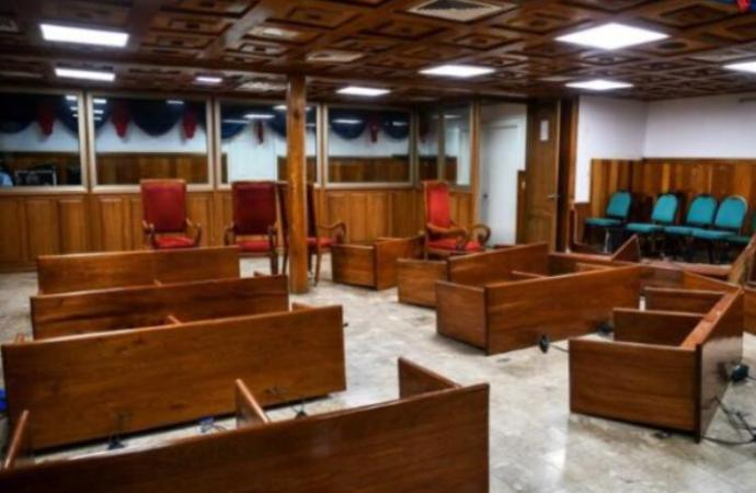 6 millions de gourdes sont nécessaires pour réhabiliter la salle de séance saccagée par les 4 sénateurs de l'opposition