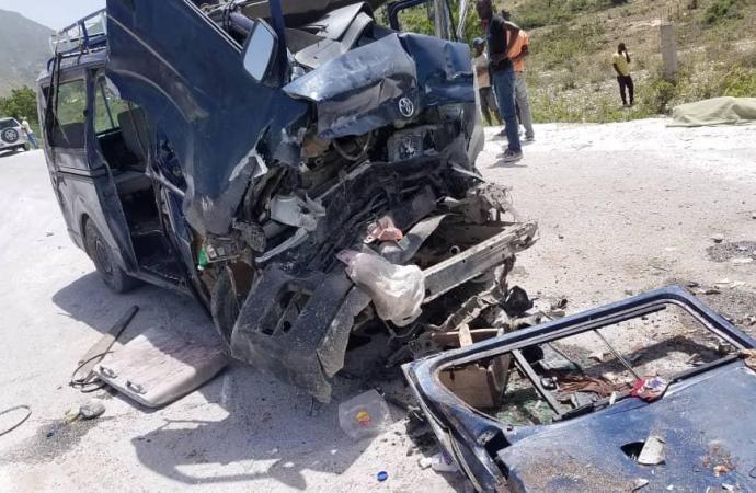Un mort et plusieurs blessés dans un accident de la circulation à Morne à cabri