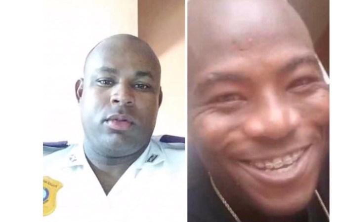 Un homme tué par balles par un policier au cours d'une dispute