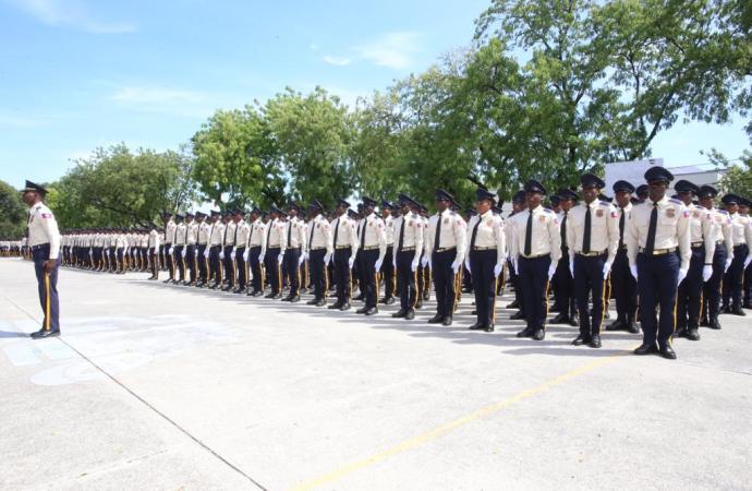 La PNH grossit ses rangs, 656 nouveaux agents entrent en fonction