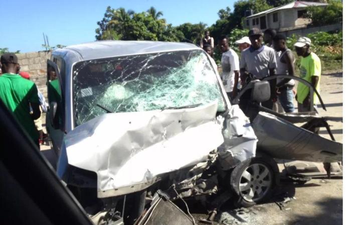 Accident de la circulation à Léogane: bilan 3 morts et une dizaine de blessés