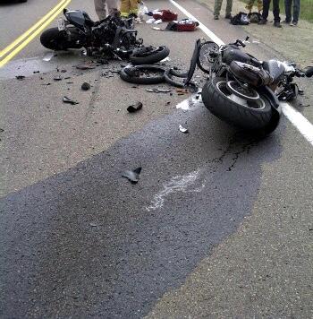 Accident de circulation : un motocycliste du cortège présidentiel impliqué, les victimes prises en charge