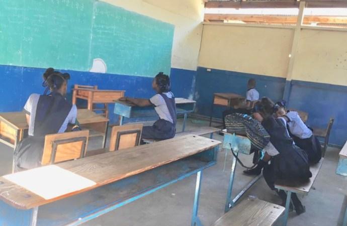 Une première journée de classe ratée