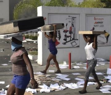 Manifestation: Un mini- market pillé à Delmas 34